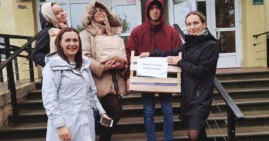Ученики школы «Лиедага» собрали подарки для одиноких пенсионеров
