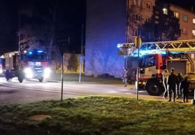 На улице Спидолас сработала противопожарная система