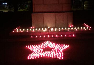 В годовщину начала войны, в Лиепае прошла «Ночь памяти» (фото, видео)