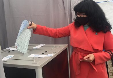 В Лиепае в выборах приняли участие 1213 граждан России