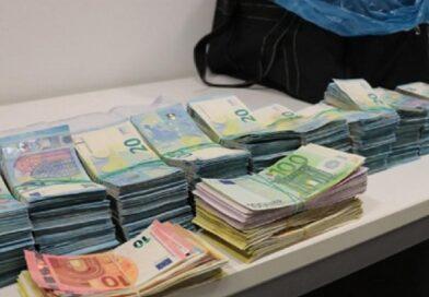 На латвийско-литовской границе у латвийца изъяли более полумиллиона евро