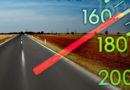 Задержан лихач, превысивший допустимую скорость почти на 80 км/ч