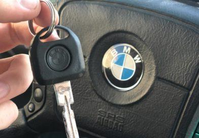 За дрифт на улице города водителю «BMW» грозит штраф