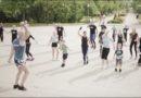 Бесплатные занятия спортом в Лиепае (видео)