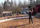 """""""Застрявший"""" в Риге чешский цирк провел онлайн-выступление (видео)"""
