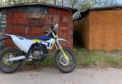 Похищен мотоцикл «Husqvarna»: ищут свидетелей преступления