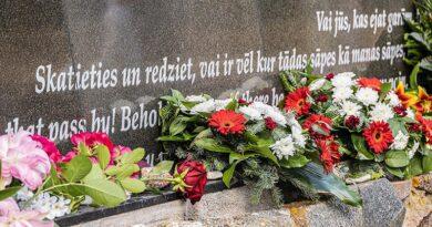 4 июля в Лиепае почтили память жертв Холокоста