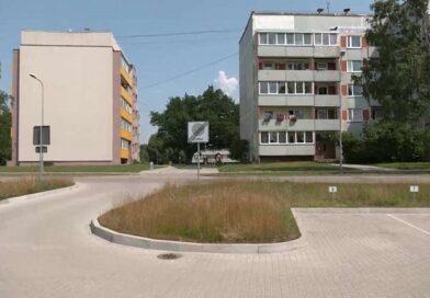 Лиепая: жильцы дома получили за ремонт двора огромные счета