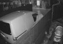 Лиепая: камера зафиксировала как незваные гости ищут чем поживиться